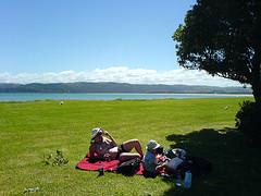Enjoy a picnic in Jasper's great outdoors.