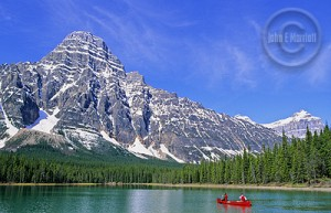 Go boating in the Canadian Rockies!