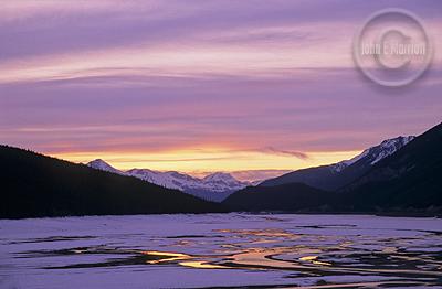 Medicine Lake, well worth the hike.