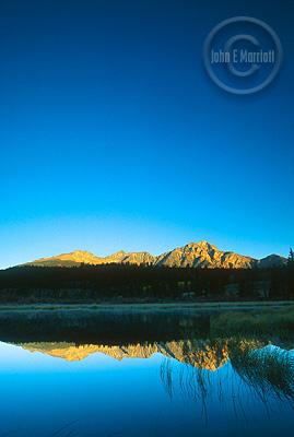 Pyramid Mountain, one of Jasper's most photogenic sights.