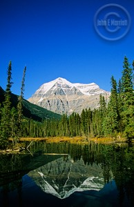 From the tramway, you can also get a view of Mt. Robson.