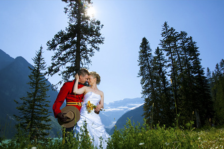 Jasper National Park: the perfect place for your perfect wedding.