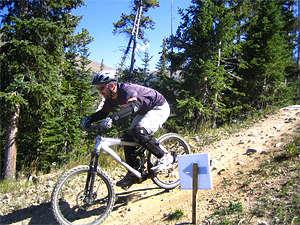 Cycling Banff, Alberta