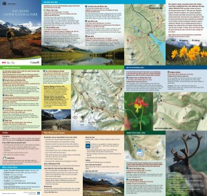 hikinguide e 300x284 Guides to Hike, Bike and Ride Jasper National Park   Alberta