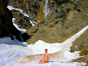 Yoga in Jasper National Park