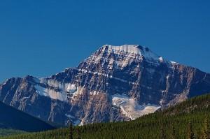 Mount Edith Cavell in Jasper National Park