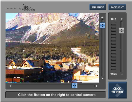 Canmore Webcam