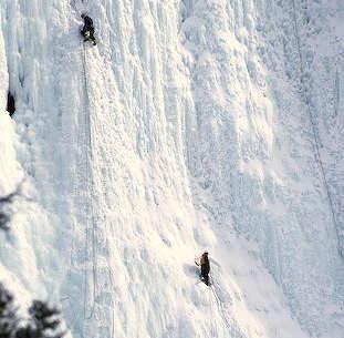 Banff Ice Climbing