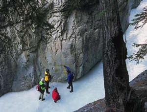 Ice Walks in Banff National Park